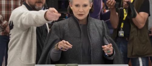 Carrie Fisher/Star Wars The Last Jedi- (YouTube/Entertainment Weekly)