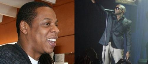 Jay- Z and Kanye West - Image from Wikipedia