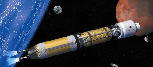 Nuclear thermal rocket (NASA wikimedia)