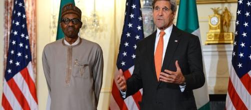 President Buhari and U. S. Secretary of State John Keryy / Washington D. C. July 21 2015 /....- flickr.com