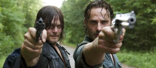 Rick Grimes, Daryl Dixon 'The Walking Dead' used with permission AMC