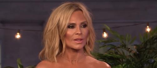 """Tamra Judge in a still from her guesting weeks ago at """"Watch What Happens Live""""- YouTube/Watch What Happens Live with Andy Cohen"""