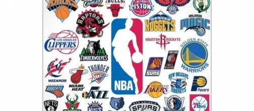 The logos of the NBA teams (via YouTube - nbagaming04)