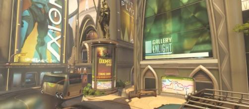The Numbani map in 'Overwatch'. (image source: YouTube/Overwatch Brasil)