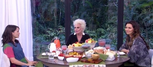 A atriz surpreendeu ao aceitar prato inusitado no 'Mais Você' ( Foto - Rede Globo )