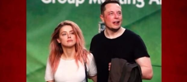 Amber Heard and Elon Musk photographed in Australia months ago - YouTube/TMZ
