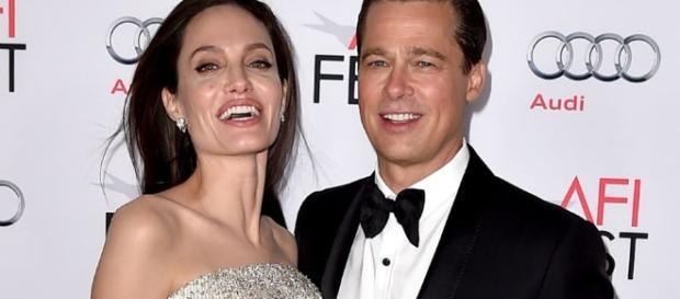 Angelina Jolie and Brad Pitt are still divorcing despite reunion rumors. Photo by Paparzzi/YouTube Screenshot