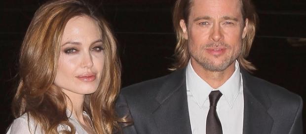 Angelina Jolie and Brad Pitt - Splash News TV/YouTube Screenshot