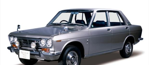 El clásico auto Detsun es un emblema de Nissan
