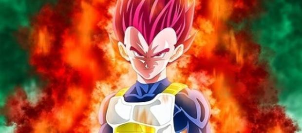 Imagen de Vegeta de Dragon Ball Super