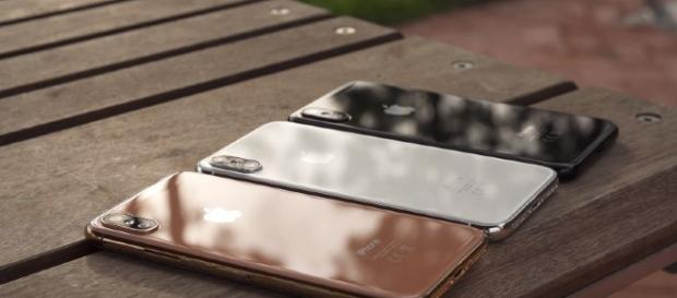 iPhone 8 black, silver and copper gold replica - YouTube/Danny Winget