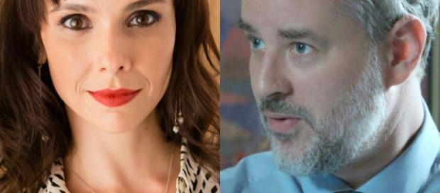 Irene e Eugênio em 'A Força do Querer'.