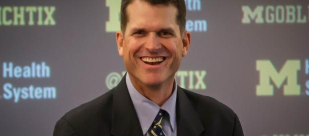 Jim Harbaugh is the only one responsible for the roster now. Eric Upchurch via Wikimedia Commons