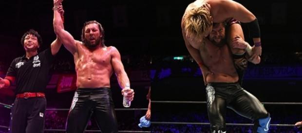 Kenny Omega derrotó por fin a su némesis Okada. njpw.co.jp.