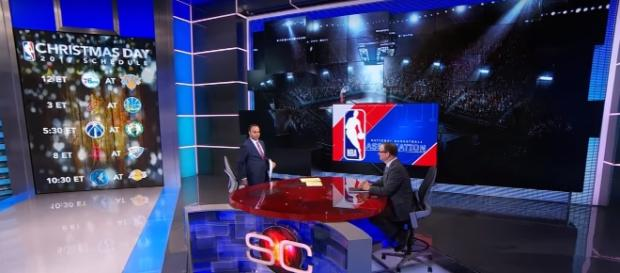 NBA announces Christmas Day schedule for 2017 season - (Image credit: YouTube/ESPN)