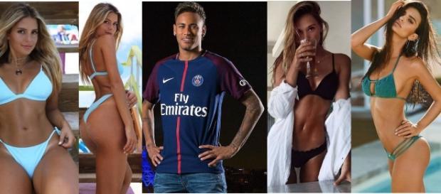 Neymar começa a seguir várias gatas nas redes sociais