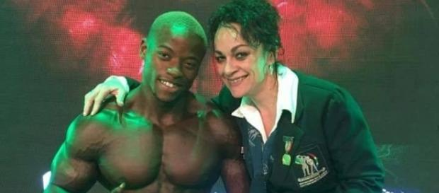 Sifiso Lungelo Thabete, il bodybuilder sudafricano sui social
