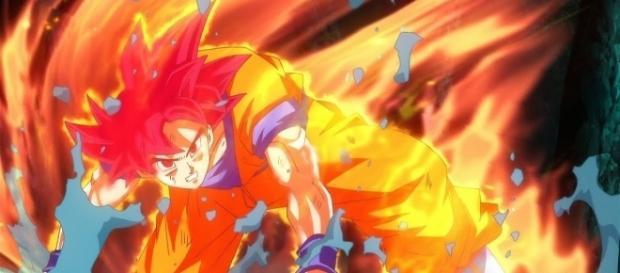 The return of the Super Saiyan God. - YouTube/MaSTAR Media
