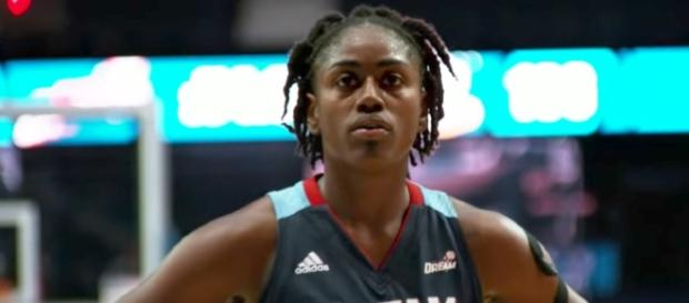 Tiffany Hayes and the Atlanta Dream are in desperate need of a win as they host the New York Liberty on Friday night. [Image via WNBA/YouTube]