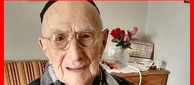 Yisrael Kristal, world's oldest man dies at 113 [Image: New 24/7/YouTube screenshot]
