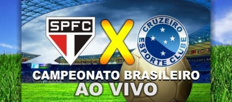 Acompanhe todos os lances de São Paulo x Cruzeiro pelo Brasileirão