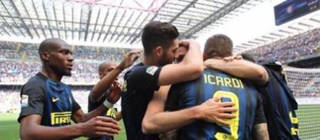 """foto """"Kondogia gruppo inter"""". Fonte social twitter-instagram"""