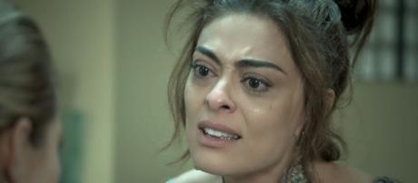 Juliana Paes interpretando Bibi em 'A Força do Querer'
