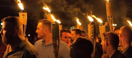 Protesters clash in Charlottesville - white nationalist rally YouTube/Nathan Oliver
