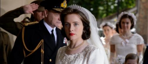A more assertive Queen Elizabeth with a changing marriage is portrayed by Claire Foy (The Crown/Twitter).