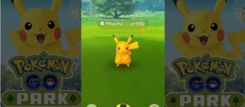 "A shiny Pikachu in ""Pokemon GO."" via Youtube/Screenshot"