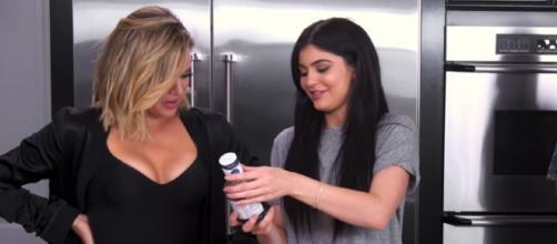 Khloe Kardashian and Kylie Jenner / Khloe Kardashian YouTube Channel