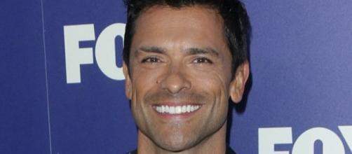 Mark Consuelos/ photo by @RiverdaleTVfans via Twitter