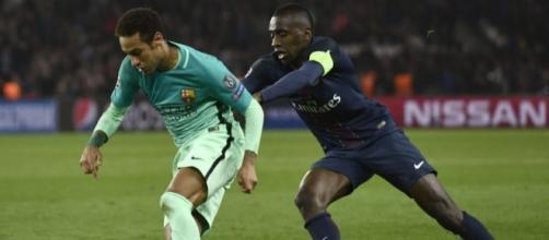 Neymar et Matuidi. Crédit photo : 90min.com