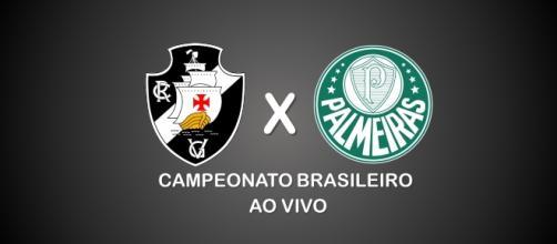 O confronto entre Vasco e Palmeiras é válido pelo Brasileirão 2017