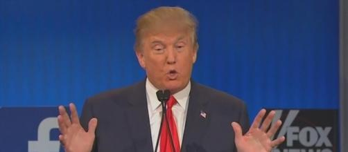 Trump insists he was sarcastic when he thanked Putin for cutting embassy payroll. Image credit - AMTV/YouTube.