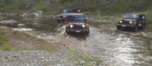 Un team di copiloti con disabilità affianca alcuni autisti di jeep alla scoperta della Basilicata