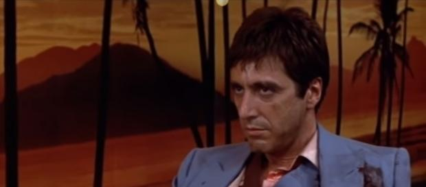 Al Pacino in 'Scarface' | credit, Looper, YouTube
