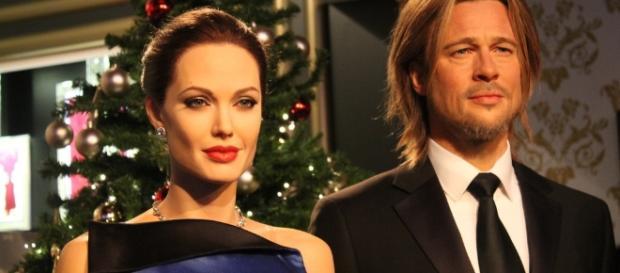 Angelina Jolie and Brad Pitt   by Maukee // Flickr