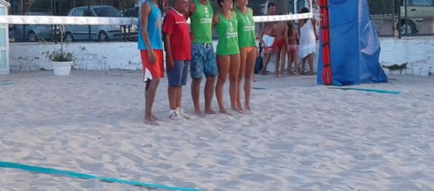 I vincitori del 2° torneo di Beach Volley