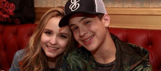Os dois jovens foram muito felizes juntos