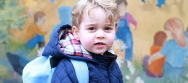 Prince George was reportedly turned into a 'gay icon' by an LGBT website/Photo via EasyTech, YouTube
