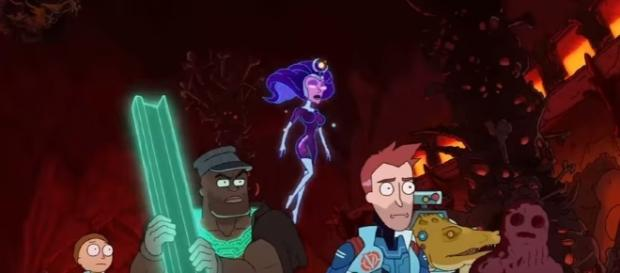 """The Vindicators are on a mission to defeat Worldender in """"Rick and Morty"""" Season 3 Episode 4. (Photo:YouTube/Adult Swim)"""