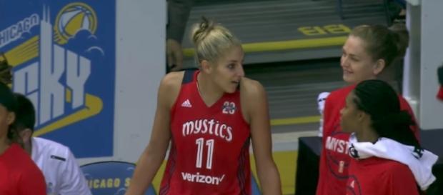 The Washington Mystics have found ways to win without Elena Delle Donne on the court. [Image via WNBA/YouTube]