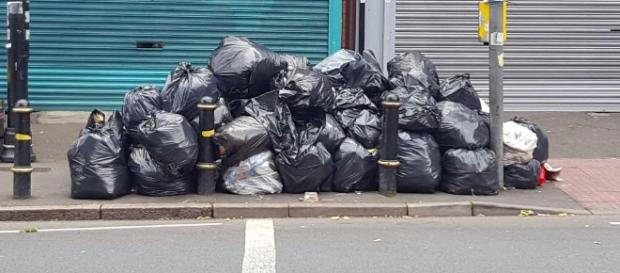 Volunteers step in to clear huge piles of rubbish in Birmingham ... - thesun.co.uk