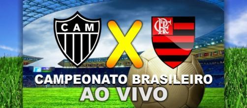 Atlético-MG e Flamengo se enfrentam pela 20ª rodada do Brasileirão