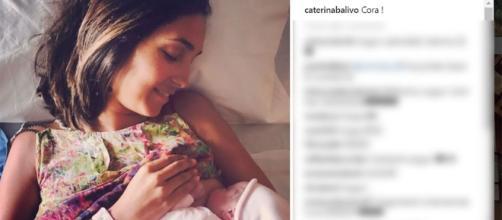 Caterina Balivo è di nuovo mamma: è nata sua figlia Cora | Life ... - lifestyleblog.it