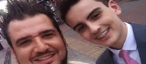 Cristian Gomes ao lado de Dudu Camargo (Foto: arquivo pessoal)