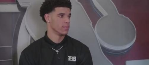 Lonzo Ball told 'NBA 2K' to remove a video game image or they might lose a customer soon. [Image via ESPN/YouTube]