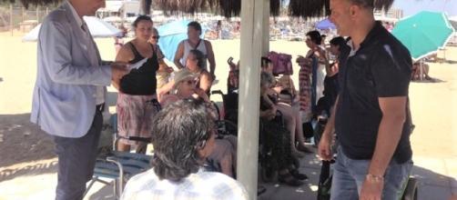 Montesilvano, cittadini entusiasti per le due spiagge accessibili alle persone con disabilità