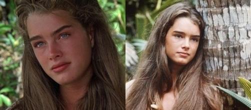 No filme 'A Lagoa Azul', Brooke fez a jovem Emmeline